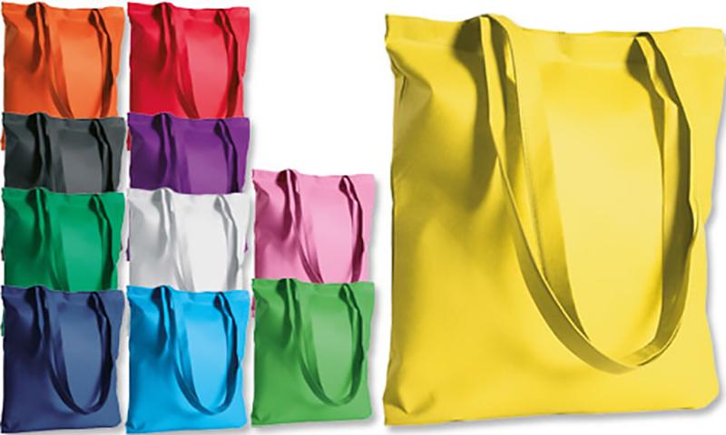 Borse di tessuto personalizzate : Per personalizzate in cotone o tnt a manico lungo e corto