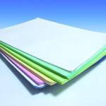 stampa blocchi carta chimica