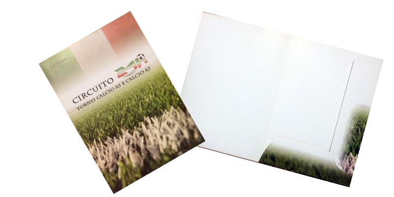 Stampa cartellette portadocumenti personalizzate