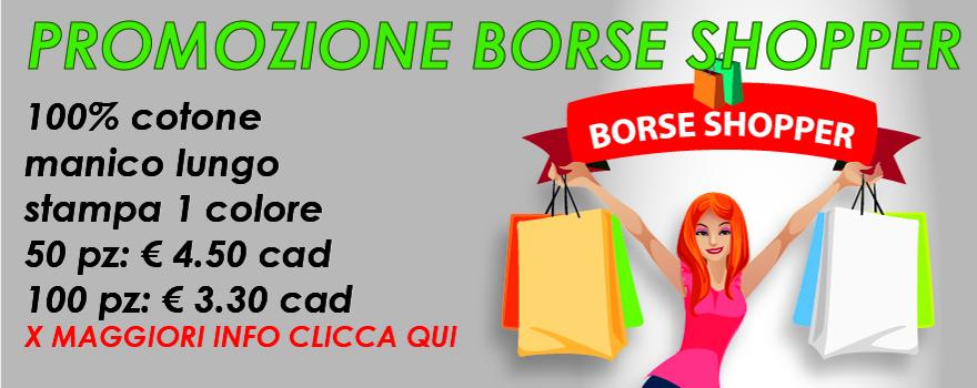 Borse shopper in promozione