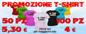 Tshirt in promozione