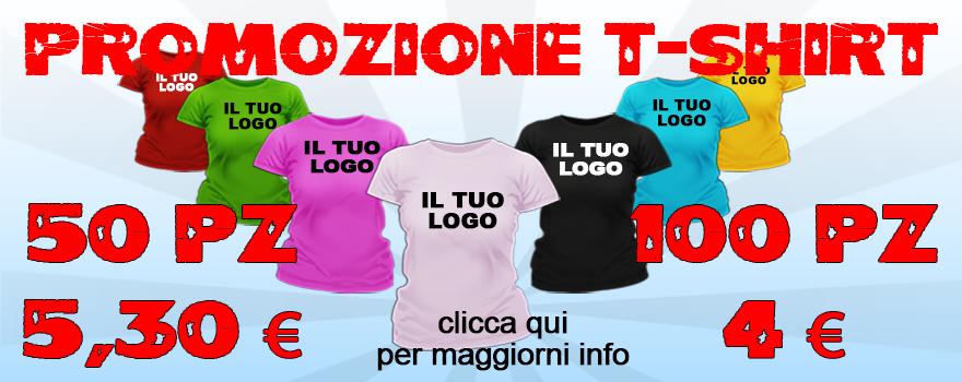T-shirt in promozione